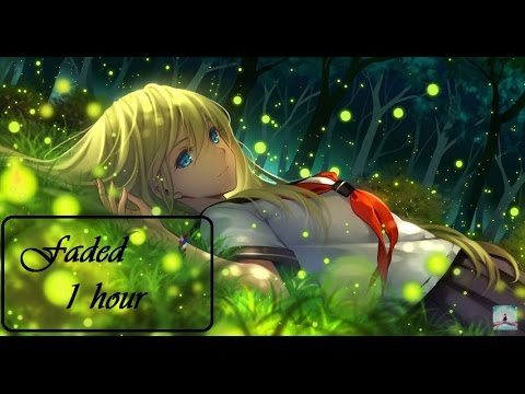 Nightcore - Faded (1 hour ) sep remix