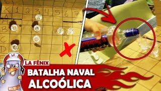 DESAFIO DA BATALHA NAVAL ALCOÓLICA