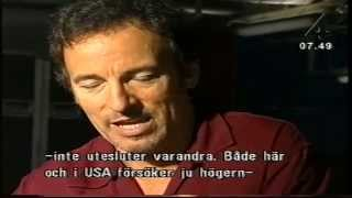 Bruce Springsteen: Interview (Stockholm 2002)