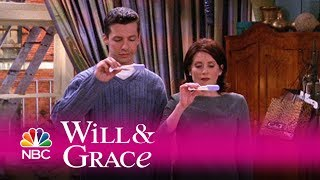 Will & grace - jack and karen take a pregnancy test (highlight)