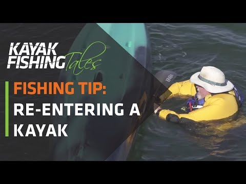 Kayak Fishing Tip | How to Re-Enter A Kayak From the Water | Self-Rescue