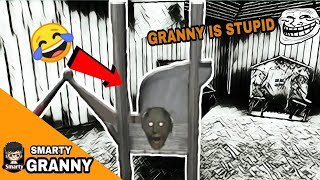 Trolling GRANNY in funniest way possible🤣🤣😆   GRANNY trolling time   GRANNY troll moments