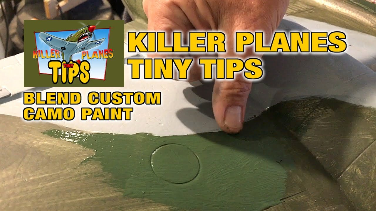 TINY TIPS - HOW TO BLEND PAINT EDGES with the Dynam Gloster Meteor