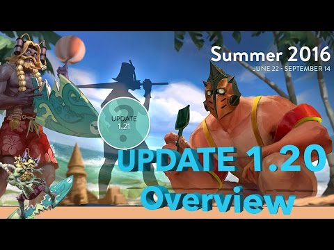 Vainglory Update 1.20 Patch Notes Review. Hero, Item And Gameplay Changes