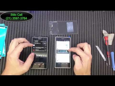 A Diferença Entre Original e Paralelo da Frontal (touch e display) do Sony Xperia Z1