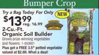 Plymouth Nursery Loves Bumper Crop Organic Soil Amendment!