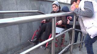 Нахустин лифт барои осон кардани ҳаракати маълулон дар Душанбе