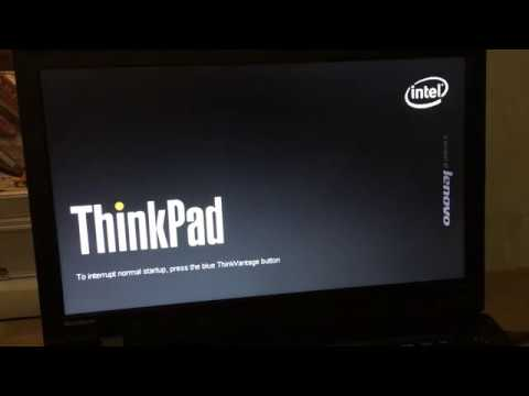 Обновление BIOS Lenovo ThinkPad SL510, BIOS Update Bootable CD