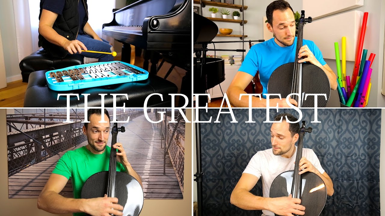 Sia - The Greatest (Cello & Piano Cover) - Brooklyn Duo
