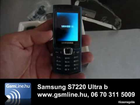 Samsung s7220 Ultra b | www.GsmLine.hu