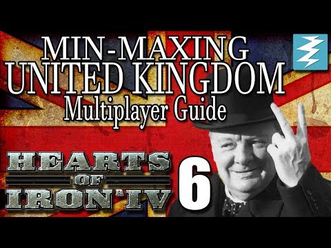 HOW TO DO ENCIRCLEMENT'S [6] Multiplayer United Kingdom - Hearts of Iron IV HOI4