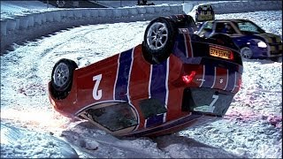 Car Ice Hockey Mayhem - Top Gear Winter Olympics - BBC