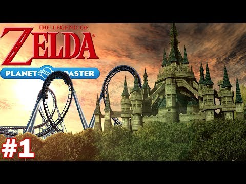Legend of Zelda Roller Coaster - Part 1 (Planet Coaster Let's Build)