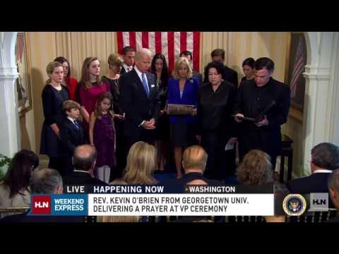 It's Official: VP Biden Takes Oath Of Office