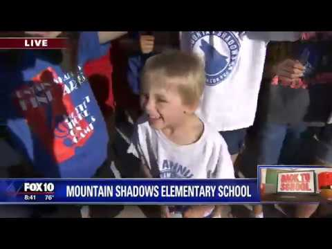 Back to school: Mountain Shadows Elementary School