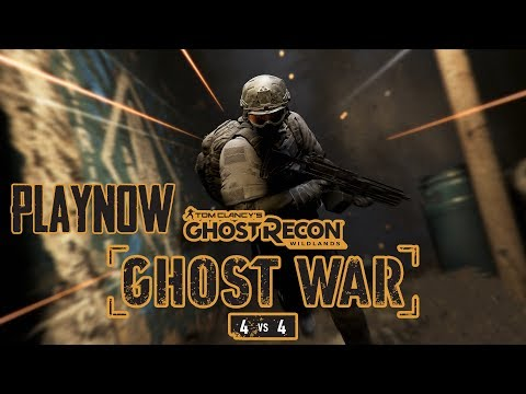 PlayNow: Tom Clancy's Ghost Recon Wildlands Ghost War PvP Open Beta | PC Gameplay