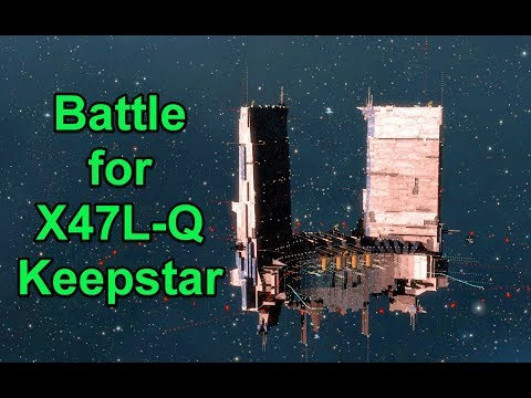 Battle for X47L-Q Keepstar - Giveaways - EVE Online Live