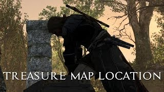 Black Flag - 333,650 Treasure Map Location (Dry Tortuga)