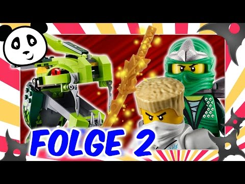 Lego Ninjago deutsch - Folge 2 die Rückkehr des 4-köpfigen Drachens Kinderserie