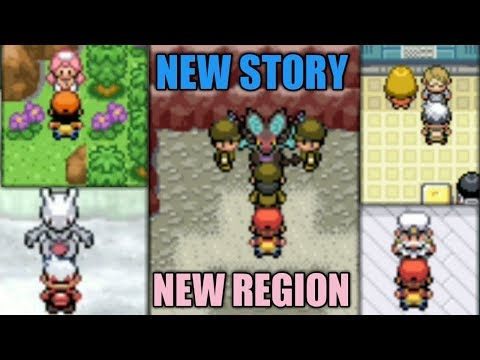 Top 5 POKEMON GBA ROM Hacks With NEW STORY And NEW REGION!!!
