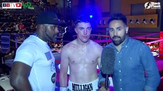 SEAN BEN MULLIGAN VS JAN BALOG - FULL FIGHT AND INTERVIEWS - BBTV