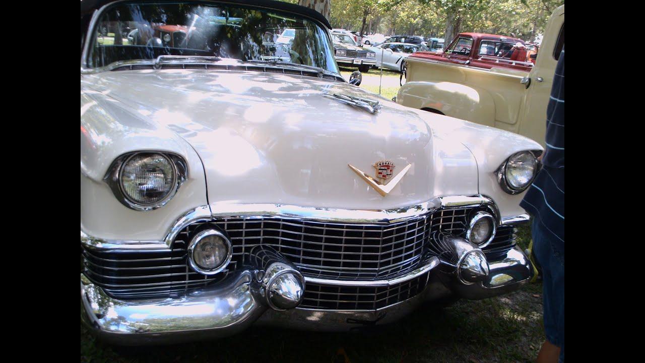 1954 Cadillac Eldorado Convertible Whtblk Daytonamkt080115 Youtube Sedan Deville
