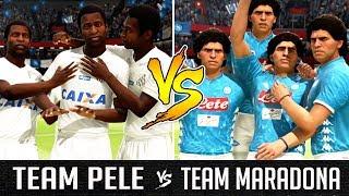 Team Pele VS Team Maradona - FIFA 19 Experiment
