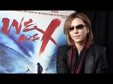 X Japan Yoshiki Interview - Meeting Kiss For First Time