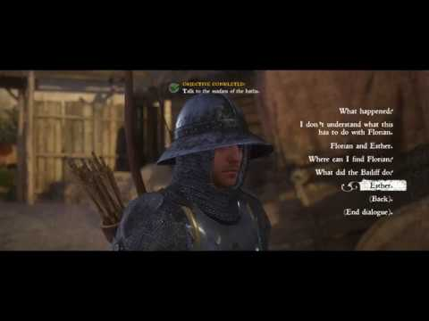 Kingdom Come: Deliverance. Damsel in Distress Quest, Saving Esther (Gameplay).