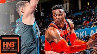 Dallas Mavericks vs Oklahoma City Thunder Full Game Highlights | March 31, 2018-19 NBA Season