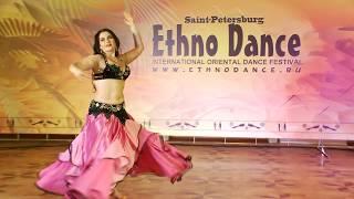 "Baletana - Batalova Elena,  2 place 6th International Oriental Dance Festival ""Ethno Dance"", 2017"
