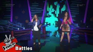 Ειρήνη Λαμπρίδου vs Βίκη Λαμπίδη - Be My Baby | 2o Battle | The Voice of Greece