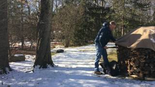 Cordwood Covers - Wood Removal