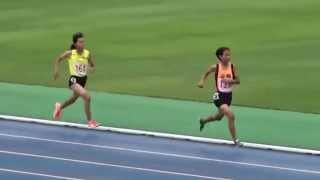 2015 年度奈良県JO代表選手選考会 女子C800m決勝