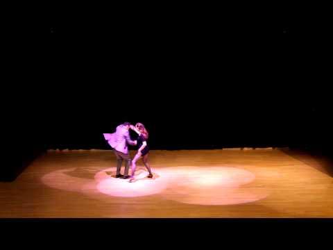 Crazy Swing Camp 2012 - Cabaret - Frances 'Fancy' Dougherty and Alex Dreyer - Houston 2 step