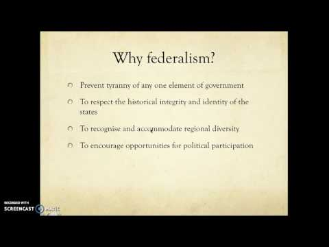 Introduction to Federalism