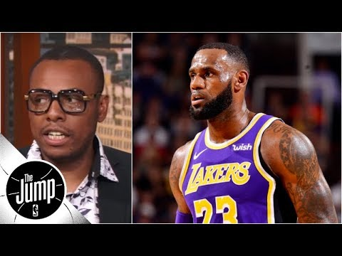 LeBron James, Lakers 'need to get a signature win' - Paul Pierce | The Jump