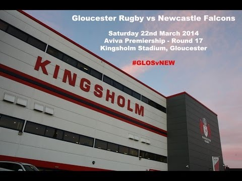 Gloucester Rugby Team To Take On Newcastle Falcons