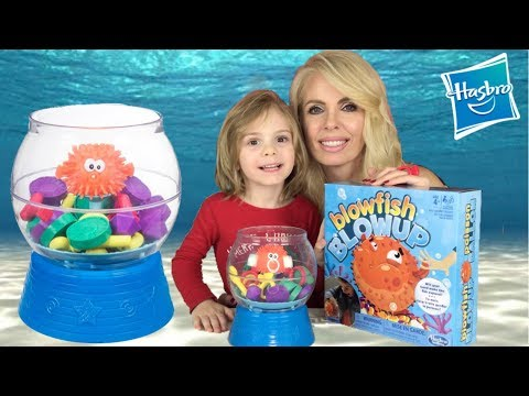*New* Hasbro Blowfish Blowup Family Game Night Party House