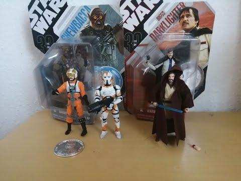 Heti videó: 09# Star Wars 30th Anniversary figurák részletesen 4.rész