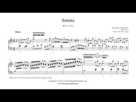 Scarlatti : Sonata in D minor, K 9, L 413
