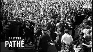 Crowd Wrecks Mosley Rally (1962)