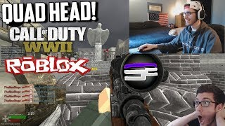 Quad Head on Roblox WWII!