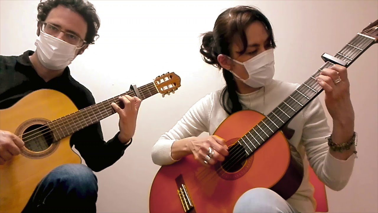 "Momo & Carl play ""A Mi Manera"" (My Way)"