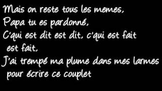La Fouine Papa Lyrics