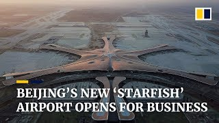 Beijing's new US$11 billion airport has opened