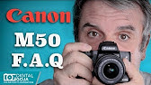Canon M50 cinematic tests - YouTube
