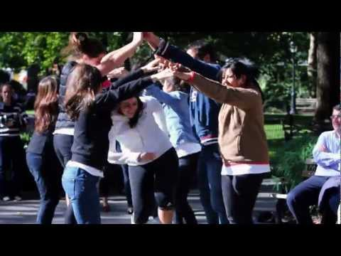 #carlandjeff - Flash Mob Proposal in Madison Square Park, NYC [OFFICIAL]