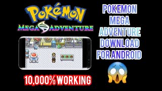 How To Download Pokemon Mega Adventure On Android And IOS In Hindi | 10000% Working