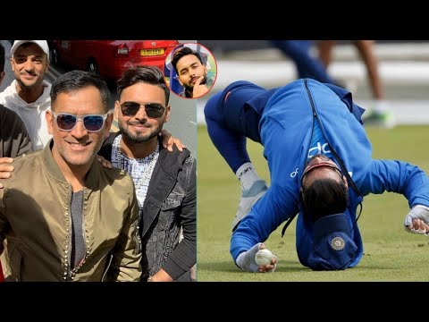 Rishabh Pant Funny Moment In Cricket | Cricket Funny Moments | 2019